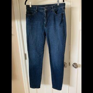 Ann Taylor High Rise Skinny Jeans